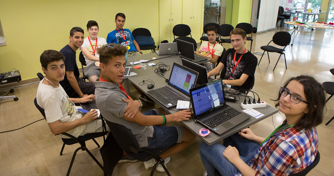 Tech Summer School for 13-19Y at British Council by Themis Gkion, Flow Athens
