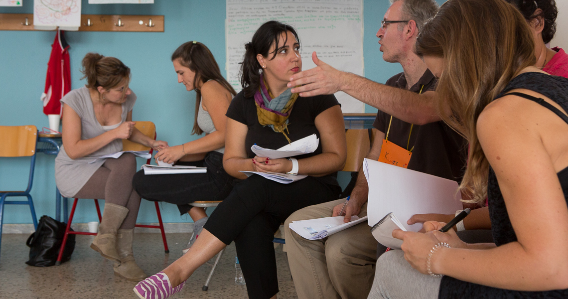 Facilitative Teacher Training by Partners for Youth Empowerment with Themis Gkion from Flow Athens