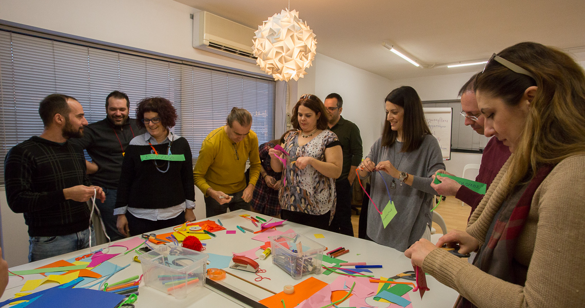 Think Differently on Collaboration - Corporate training by Flow Athens