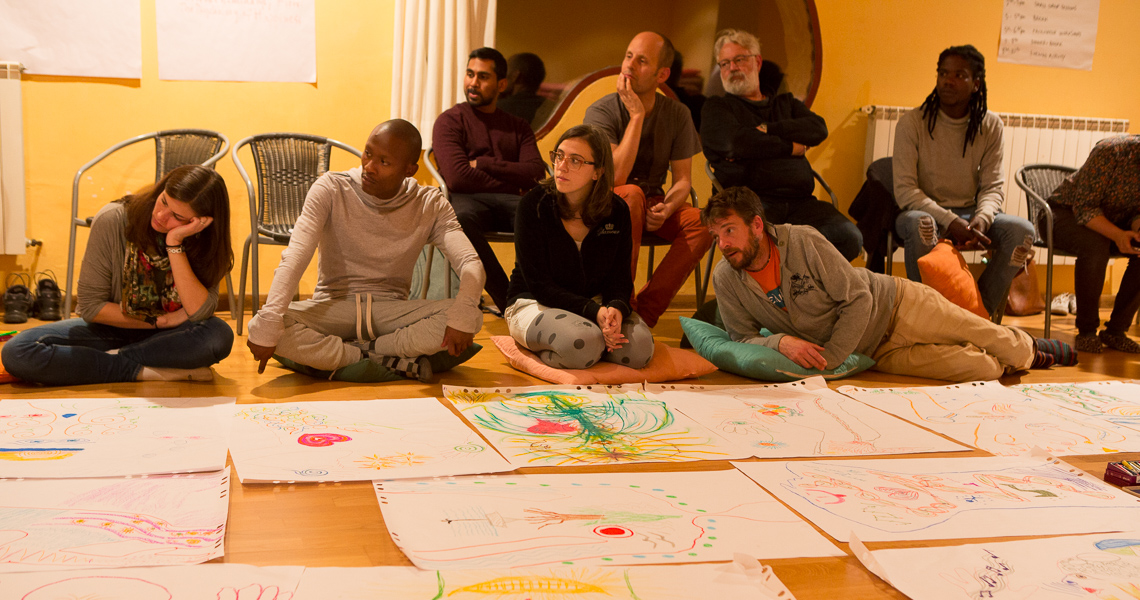 Themis Gkion from Flow Athens trained up at Confluence, the Global Summit for Partners for Youth Empowerment. Training for teacher trainers.