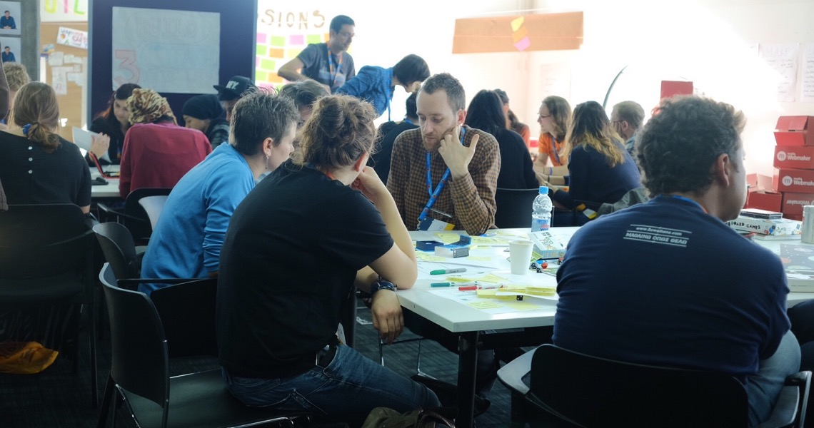 Flow Athens workshop at Mozilla Festival 2014