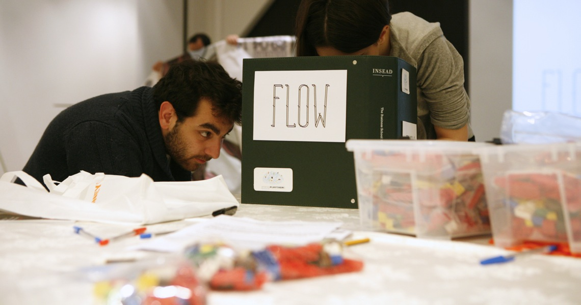 Collaborative game by Flow Athens at Ethos Sustainability Forum
