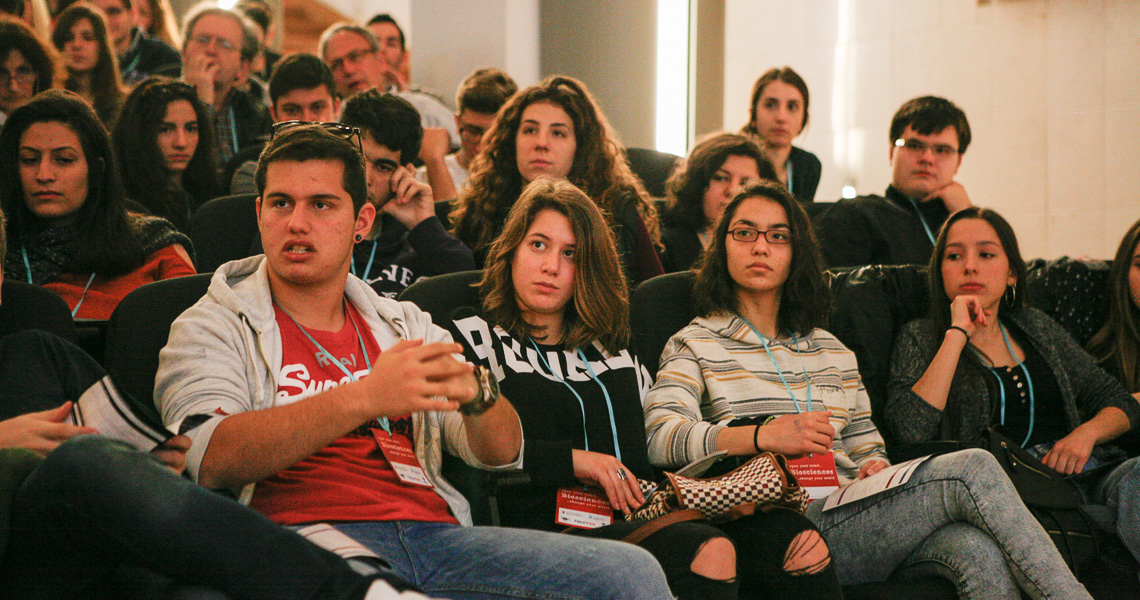 Biosciences high-school outreach events 2015-16 curated by Flow Athens