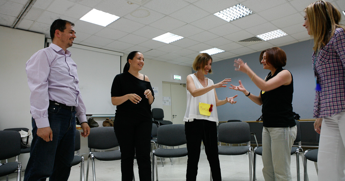 Empowered Teacher training by Themis Gkion from Flow Athens with PYE at Cyprus Pedagogical Institute